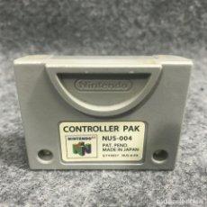 Videojuegos y Consolas: CONTROLLER PAK NINTENDO 64. Lote 277309163