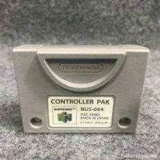 Videojuegos y Consolas: CONTROLLER PAK NINTENDO 64. Lote 277309168