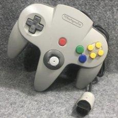 Videojuegos y Consolas: CONTROLLER GRIS NINTENDO 64. Lote 277309183