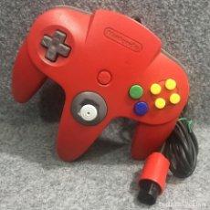 Videojuegos y Consolas: CONTROLLER ROJO NINTENDO 64. Lote 277309193