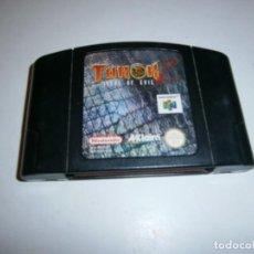 Videojuegos y Consolas: TUROK 2 NINTENDO 64 PAL SOLO CARTUCHO. Lote 277664863