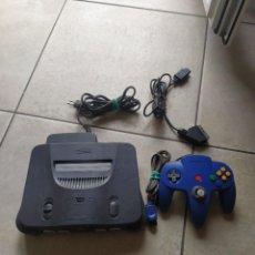 Videojuegos y Consolas: CONSOLA N64 NINTENDO 64 PAL. Lote 278477413