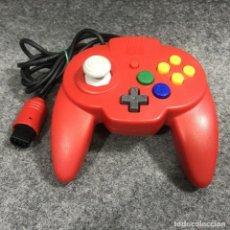 Videojuegos y Consolas: HORI PAD MINI ROJO NINTENDO 64. Lote 279337533