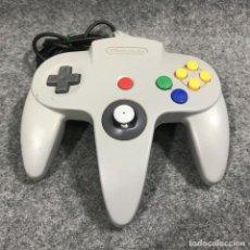 Videojuegos y Consolas: CONTROLLER OFICIAL GRIS NINTENDO 64. Lote 279337563