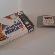 Jeux Vidéo et Consoles: NINTENDO 64 JUEGO COPA DEL MUNDO FRANCIA 98. Lote 280328138