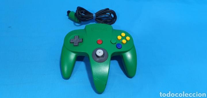 MANDO COLOR VERDE PARA NINTENDO 64 (Juguetes - Videojuegos y Consolas - Nintendo - Nintendo 64)