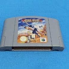 Videojuegos y Consolas: JUAGI STAR WARS ROGUE SQUADRON PARA NINTENDO 64. Lote 283682623