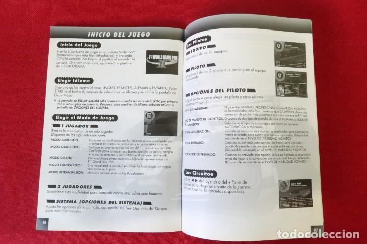 Videojuegos y Consolas: 4 INSTRUCCIONES PARA WII Y NINTENDO 64 CON IDIOMA ESPAÑOL - Foto 7 - 285421438