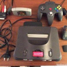 Videojuegos y Consolas: CONSOLA NINTENDO 64 PAL ESPAÑA CON SUPER MARIO 64,MANDO Y TRANSFER Y EXPANSION PAK FUNCIONA PERFECTA. Lote 283125298