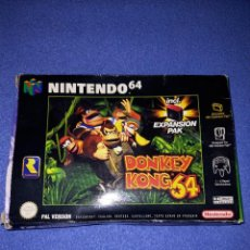 Jeux Vidéo et Consoles: JUEGO DONKEY KONG ORIGINAL NINTENDO 64 CAJA. Lote 285586133