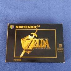 Jeux Vidéo et Consoles: CAJA JUEGO ZELDA OCARINA OF TIME NINTENDO 64. Lote 285588263