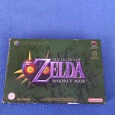 Jeux Vidéo et Consoles: CAJA JUEGO ZELDA MAJORAS MASK NINTENDO 64. Lote 285589273