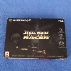 Jeux Vidéo et Consoles: CAJA JUEGO STAR WARS EPISODE 1 RACER NINTENDO 64. Lote 285591238