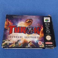 Jeux Vidéo et Consoles: CAJA JUEGO TUROK NINTENDO 64. Lote 285595183