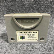 Videojuegos y Consolas: CONTROLLER PAK NINTENDO 64. Lote 286382313