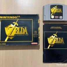 Videojuegos y Consolas: ZELDA OCARINA OF TIME 64. Lote 286785848