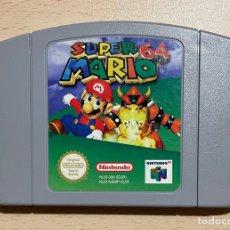 Videojuegos y Consolas: SUPER MARIO 64 - PAL ESP / EUR - 100% ORIGINAL - NINTENDO 64 - N64 - CARTUCHO EN BUEN ESTADO. Lote 287159983