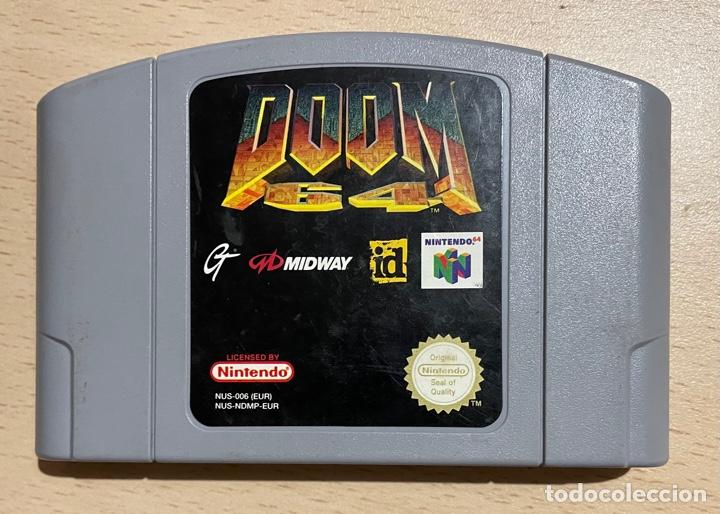 DOOM 64 - PAL ESP / EUR - 100% ORIGINAL - NINTENDO 64 - N64 - CARTUCHO EN BUEN ESTADO (Juguetes - Videojuegos y Consolas - Nintendo - Nintendo 64)
