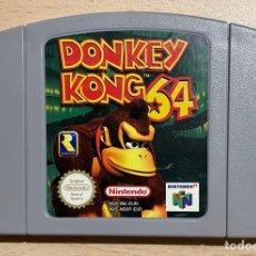Jeux Vidéo et Consoles: DONKEY KONG 64 - PAL ESP / EUR - 100% ORIGINAL - NINTENDO 64 - N64 - CARTUCHO EN BUEN ESTADO. Lote 287160743
