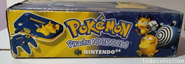 Videojuegos y Consolas: Nintendo 64 Edición Pikachu - Foto 4 - 287161133