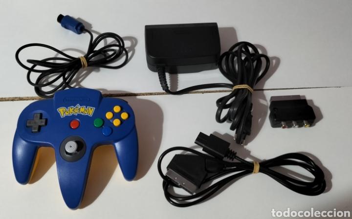Videojuegos y Consolas: Nintendo 64 Edición Pikachu - Foto 5 - 287161133