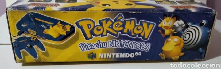 Videojuegos y Consolas: Nintendo 64 Edición Pikachu - Foto 6 - 287161133