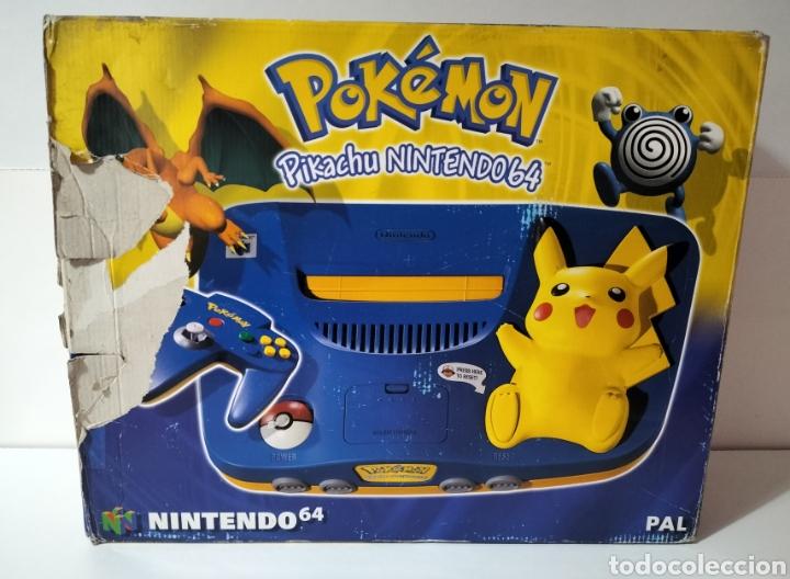 NINTENDO 64 EDICIÓN PIKACHU (Juguetes - Videojuegos y Consolas - Nintendo - Nintendo 64)