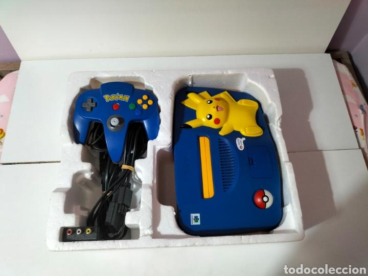 Videojuegos y Consolas: Nintendo 64 Edición Pikachu - Foto 11 - 287161133