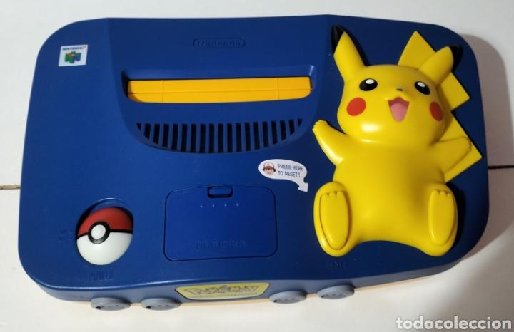 Videojuegos y Consolas: Nintendo 64 Edición Pikachu - Foto 2 - 287161133