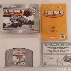 Videogiochi e Consoli: NINTENDO 64 F-1 WORLD GRAND PRIX COMPLETO PAL ESPAÑA. Lote 287625883