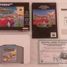 Videogiochi e Consoli: NINTENDO 64 CRUISN WORLD COMPLETO PAL ESPAÑA. Lote 287626043