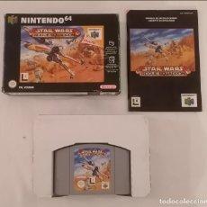 Videogiochi e Consoli: NINTENDO 64 STAR WARS ROGUE SQUADRON COMPLETO PAL ESPAÑA. Lote 287626288