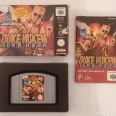 Videogiochi e Consoli: NINTENDO 64 DUKE NUKEM ZERO HOUR COMPLETO PAL ESPAÑA. Lote 287626843