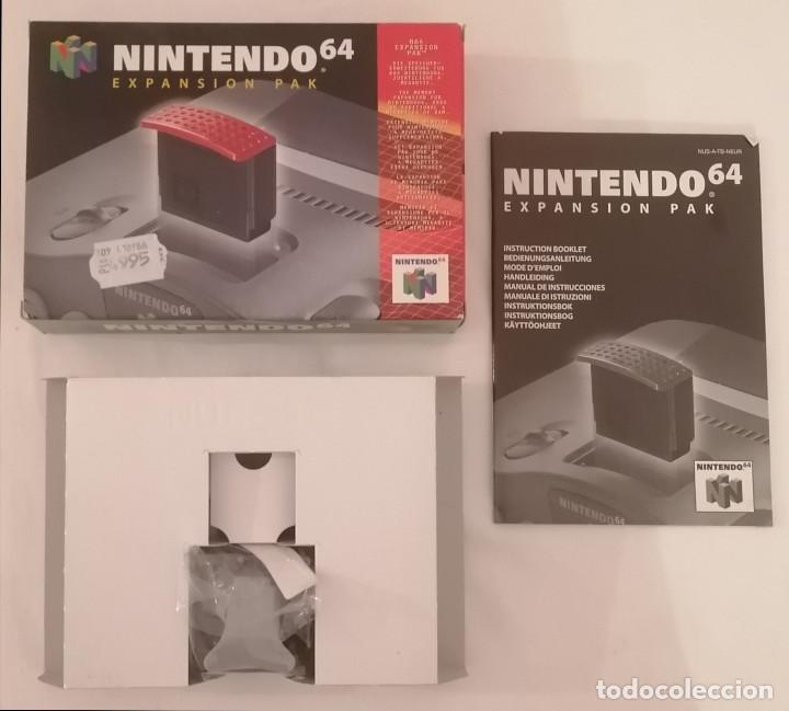 NINTENDO 64 EXPANSION PAK COMPLETO PAL ESPAÑA (Juguetes - Videojuegos y Consolas - Nintendo - Nintendo 64)