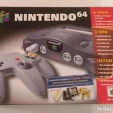 Videogiochi e Consoli: CONSOLA NINTENDO 64 EN CAJA PAL ESPAÑA ¡EN MUY BUEN ESTADO!. Lote 287630923