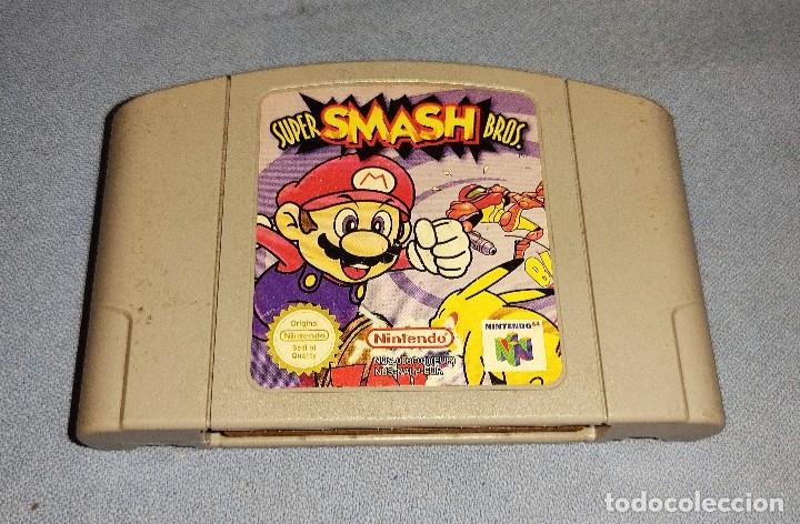 JUEGO SUPER MARIO SUPER SMASH BROS. NINTENDO (Juguetes - Videojuegos y Consolas - Nintendo - Nintendo 64)