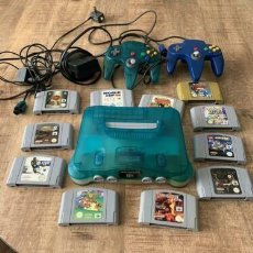 Videojogos e Consolas: NINTENDO 64 CON 11 JUEGOS. Lote 288727558