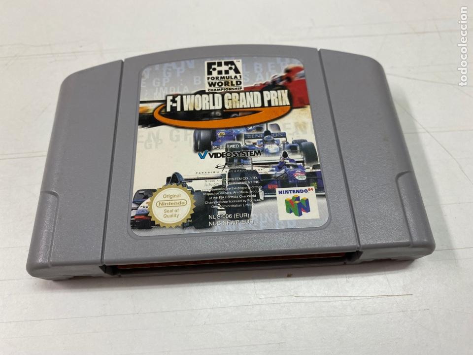 JUEGO F1 WORLD GRAND PRIX PARA NINTENDO 64 (Juguetes - Videojuegos y Consolas - Nintendo - Nintendo 64)