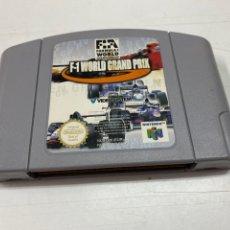 Videojuegos y Consolas: JUEGO F1 WORLD GRAND PRIX PARA NINTENDO 64. Lote 288950773