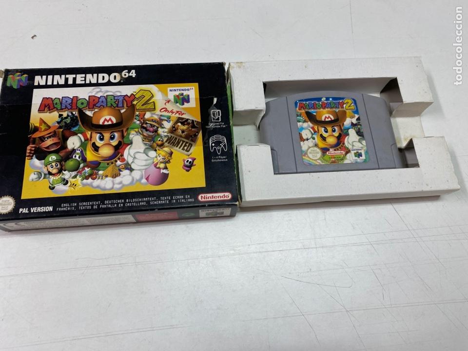 JUEGO MARIO PARTY 2 PARA NINTENDO 64 CON CAJA ORIGINAL (Juguetes - Videojuegos y Consolas - Nintendo - Nintendo 64)