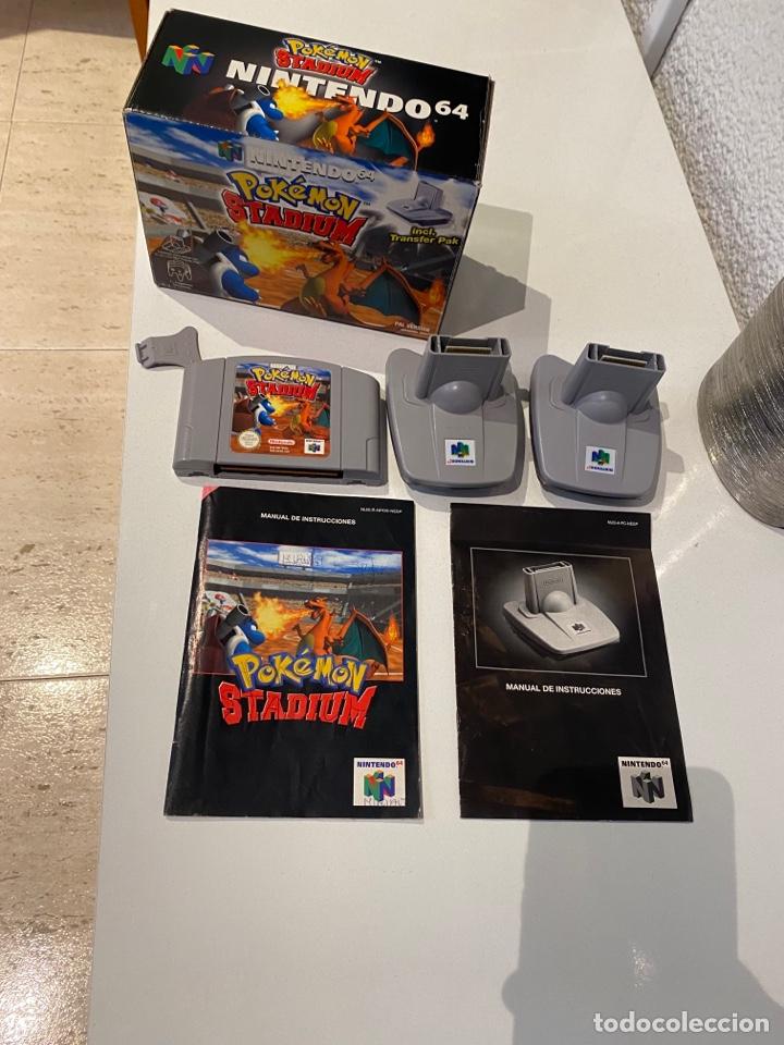 POKEMON STADIUM COMPLETA .NINTENDO 64 - N64 [PAL] EDICIÓN ESPAÑOLA (Juguetes - Videojuegos y Consolas - Nintendo - Nintendo 64)