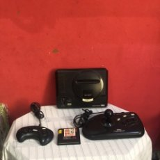 Videojuegos y Consolas: CONSOLA SEGA MEGADRIVE MODELO 1 .CON DOS MANDOS ORIGINALES MÁS UN JUEGO . VER FOTOS. Lote 289206508