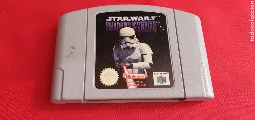 JUEGO NINTENDO WARS SHADOWS OF THE EMPIRE (Juguetes - Videojuegos y Consolas - Nintendo - Nintendo 64)
