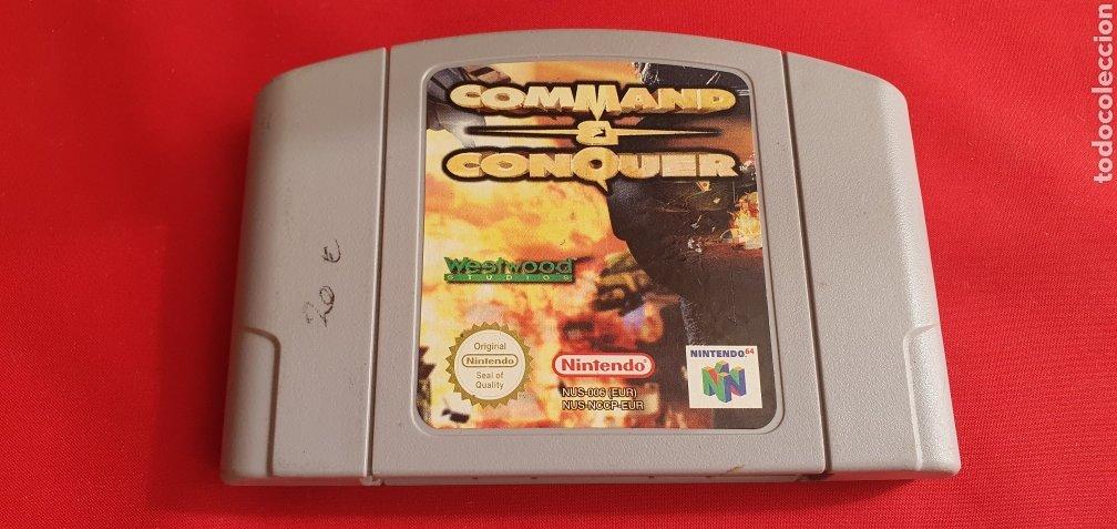 JUEGO NINTENDO 64 COMMAND Y CONQUER (Juguetes - Videojuegos y Consolas - Nintendo - Nintendo 64)