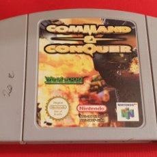 Videojuegos y Consolas: JUEGO NINTENDO 64 COMMAND Y CONQUER. Lote 289699898