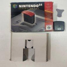 Videojuegos y Consolas: NINTENTO 64 EXPANSIÓN PAK CON CAJA ORIGINAL. Lote 289847783