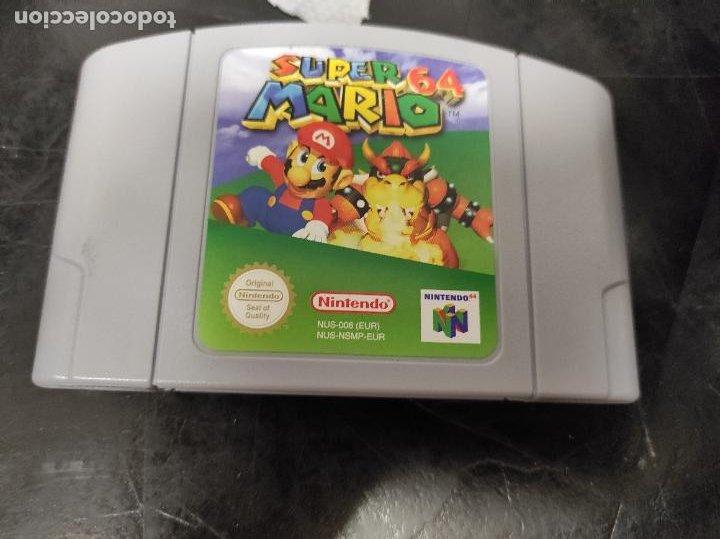 SUPER MARIO 64 - PAL ESP / EUR - 100% ORIGINAL - NINTENDO 64 - N64 - CARTUCHO (Juguetes - Videojuegos y Consolas - Nintendo - Nintendo 64)