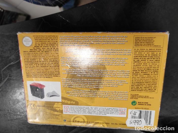 Videojuegos y Consolas: EXPANSION PAK N64 NINTENDO 64 COMPLETO ORIGINAL 100% - Foto 2 - 289881888