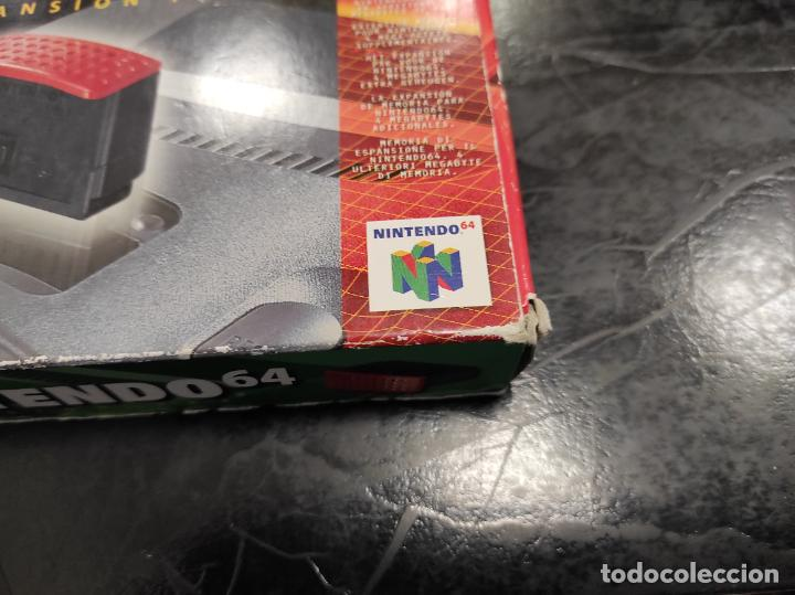 Videojuegos y Consolas: EXPANSION PAK N64 NINTENDO 64 COMPLETO ORIGINAL 100% - Foto 4 - 289881888