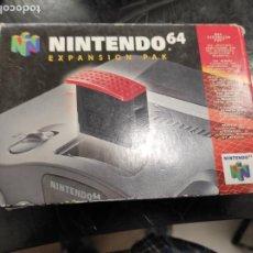 Videojuegos y Consolas: EXPANSION PAK N64 NINTENDO 64 COMPLETO ORIGINAL 100%. Lote 289881888
